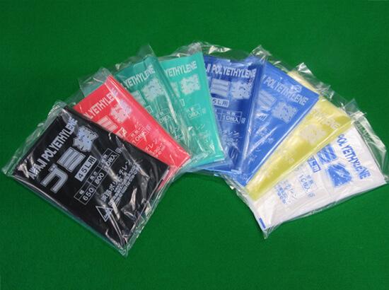 カラーごみ袋の品質